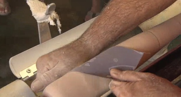 How a Handcut Baseball Bat is Made