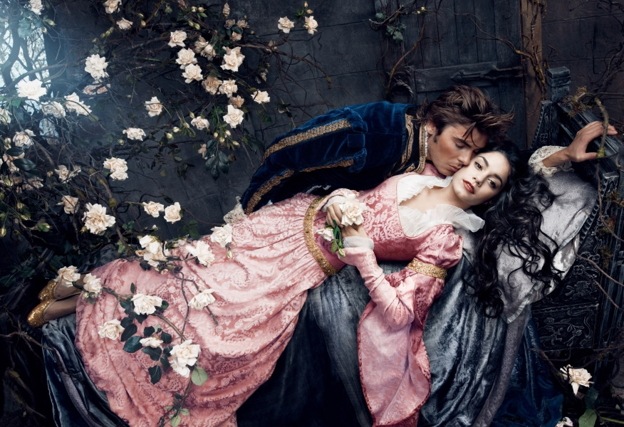 Movie Stars pose as Disney characters for famous Photographer Annie Leibovitz