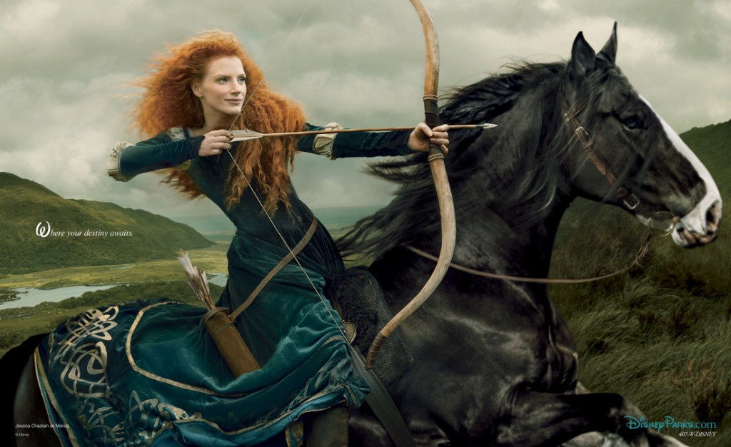 Movie Stars Pose as Disney Characters for Famous Photographer Annie Leibovitz | GuysGirl