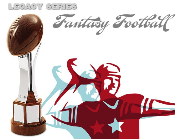 high quality fantasy football trophy