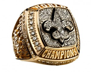 Saints 2011 Superbowl Ring