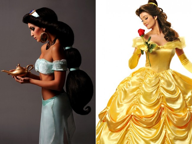 Photographer Captures Models as Real Life Disney Princesses