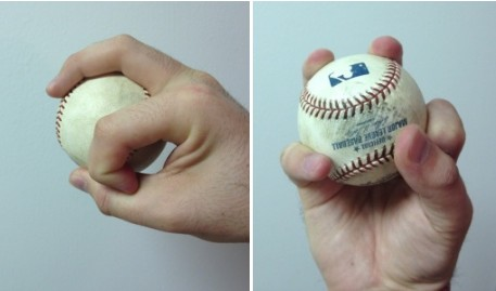 how to throw baseball pitches