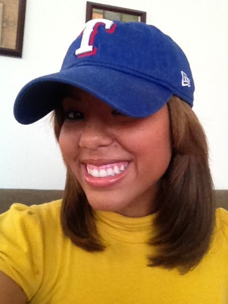 MLB Female Fan Series: Erica Bennett for the Texas Rangers