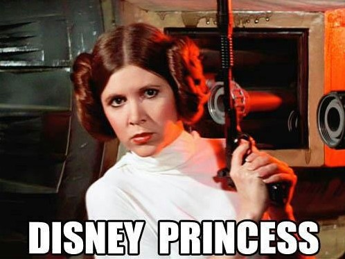 Is Princess Leia Already the Most Badass Disney Princess of Them All? Hint: She's not #1