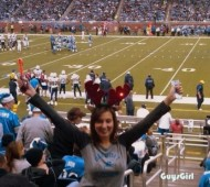 guysgirl female fan detroit lions