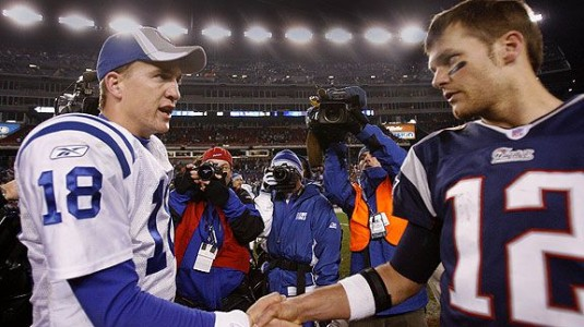 NFL, COLTS, PATRIOTS, TOM BRADY, PEYTON MANNING