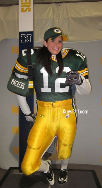 nfl packers female fan guysgirl