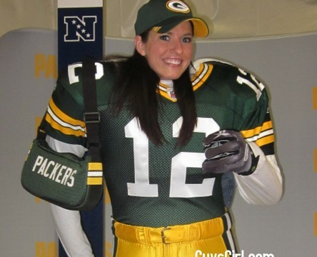 packers female fan nfl