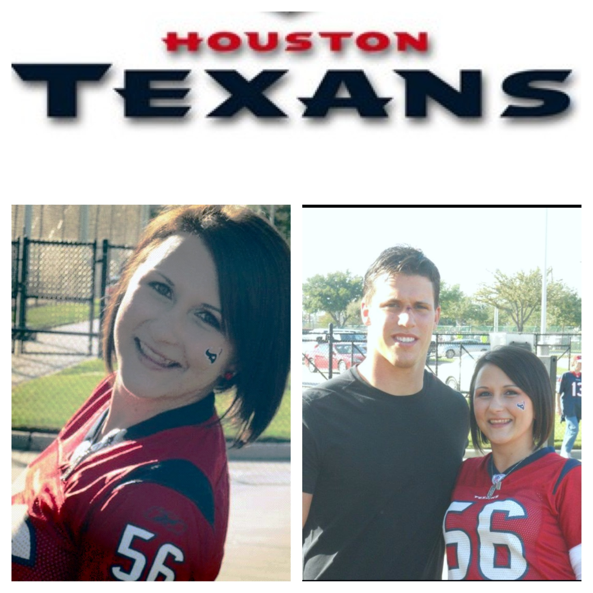 Texans NFL Female Fan Jayme