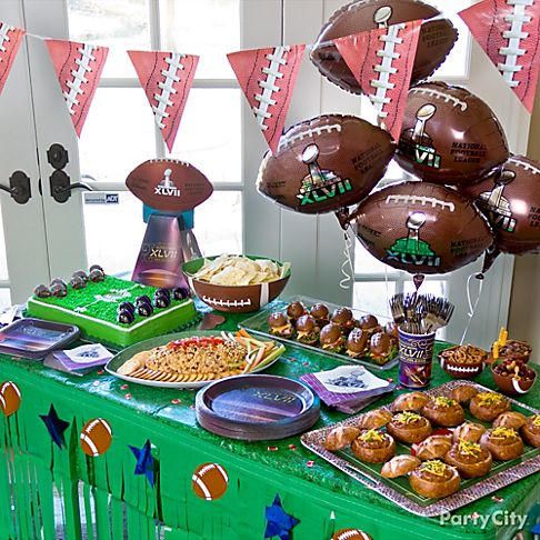 Vintage Super Bowl Party From Hello My Sweet If you're looking for a vintage vibe for your Super Bowl party, check out these vintage football decorations from Hello My Sweet.