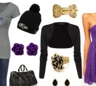 Cute Gameday Ravens Outfit Ideas