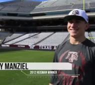 Johnny Football's Trick Shot Video with Dude Perfect