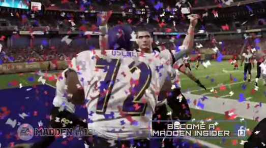 EA's Madden Predicts the Ravens Will Be Superbowl Champions