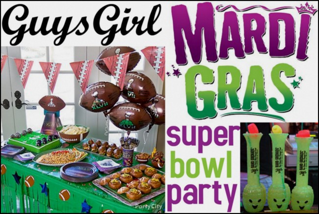 mardi gras football superbowl party new orleans