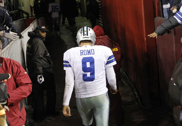 Romo Chokes Again. This and Other NFL Random Thoughts