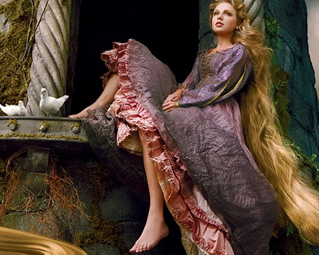 taylor swift rapunzel disney
