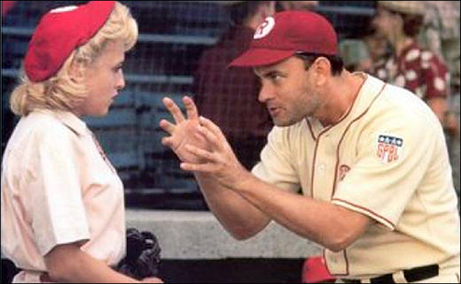 A League of Their Own is highest grossing baseball movie