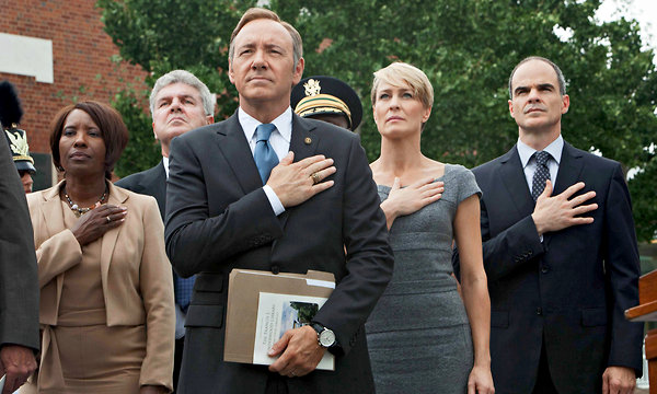 Lazlo's Clicker:  House of Cards, Being Human, Smash