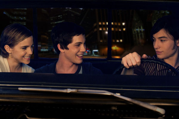The Perks of Being a Wallflower, Emma Watson, Ezra Miller, Logan Lerman
