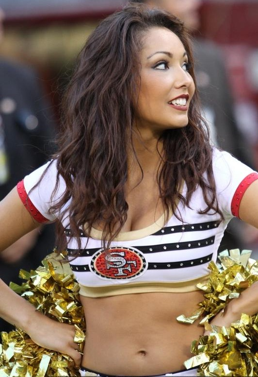 Superbowl Cheerleaders 49ers
