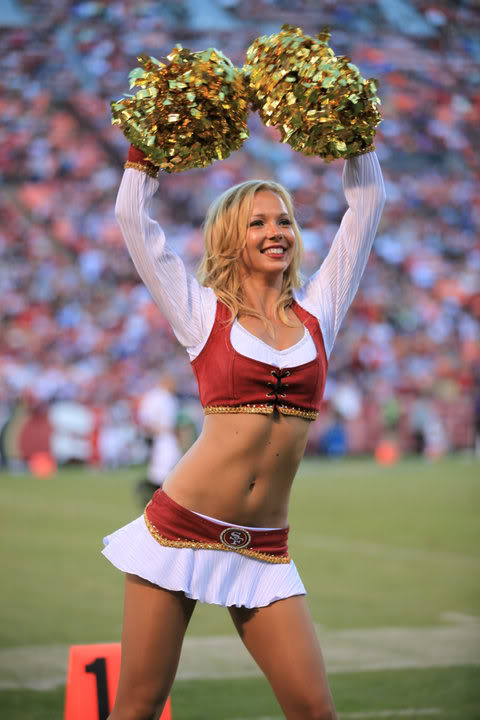 Superbowl Cheerleaders 49ers Edition