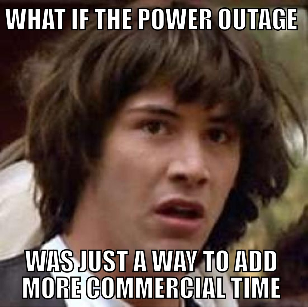 Superbowl Power Outage
