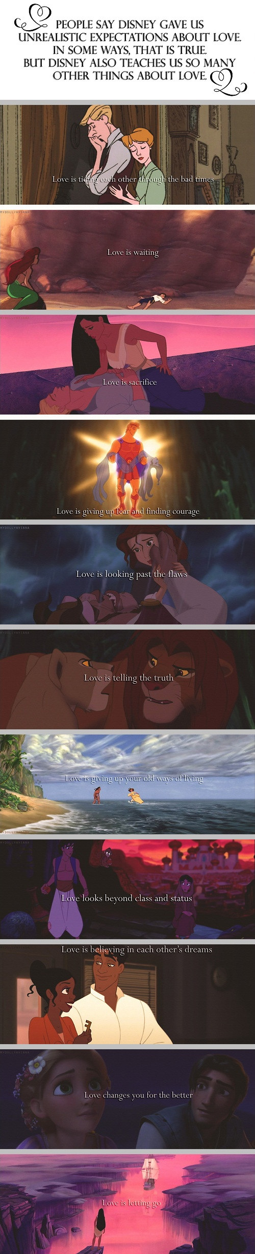 What Disney Teaches Us About Love