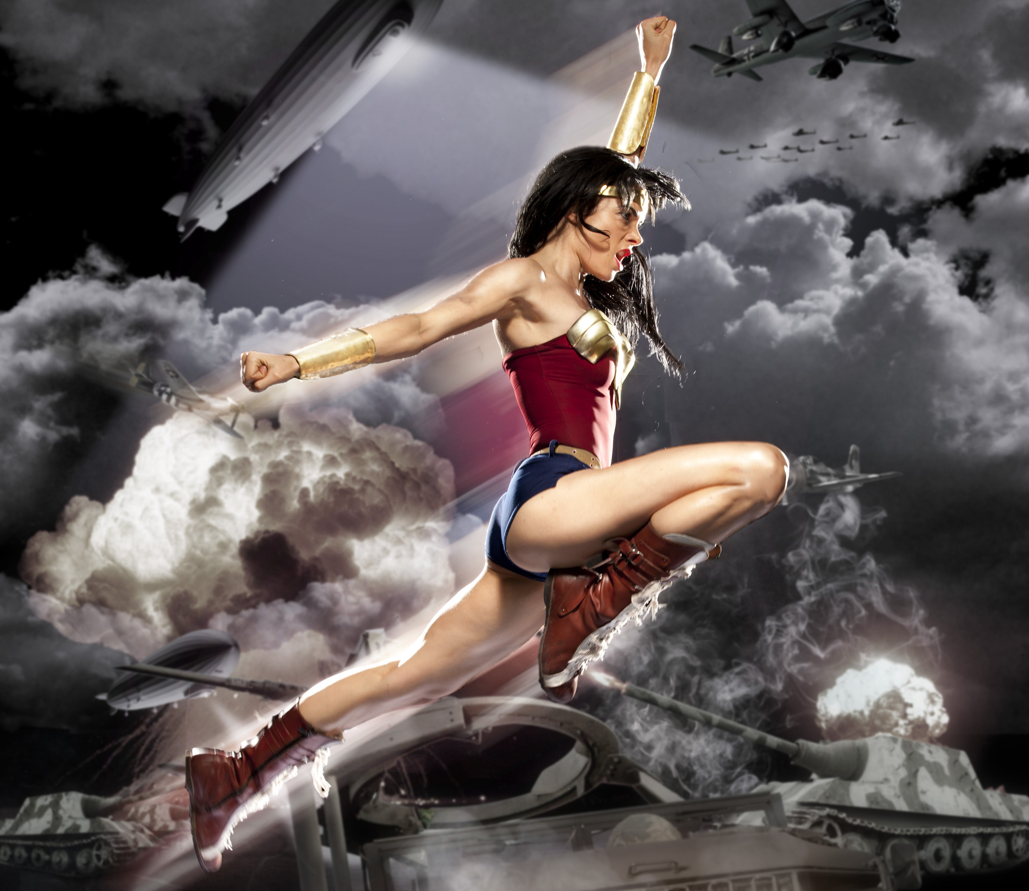 Wonder Woman finally looks like the badass we all have waited for