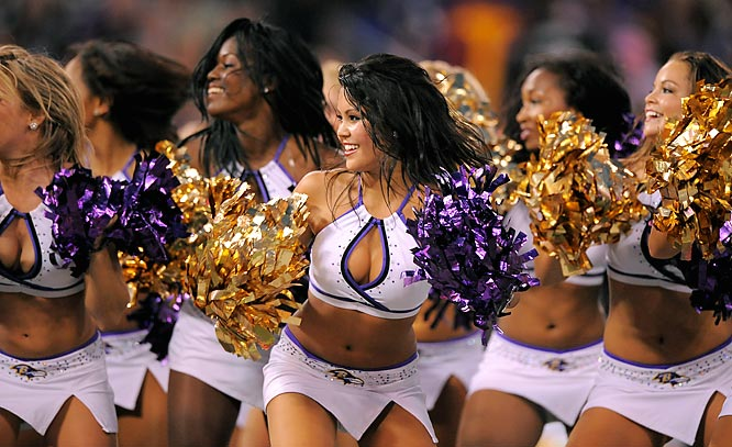 Ravens Superbowl Cheerleaders