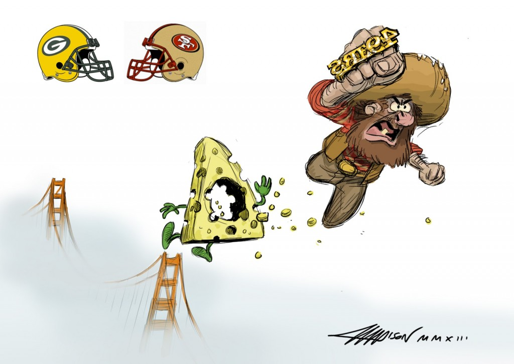 Pixar Fantasy Football Sketches