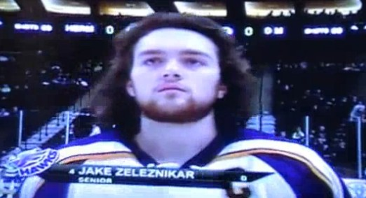 Creepy: All Hockey Hair Team video will make you cringe
