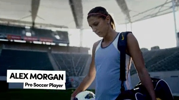 "Alex Morgan and Lolo Jones appear in new Degree ""Do More"" commercials"