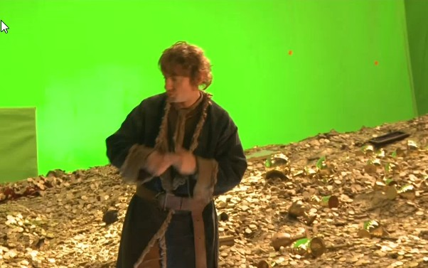 The Hobbit, Smaug, bilbo, first look