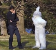 Tom Brady's Easter Bunny receiver is not up to Wes Welker's par
