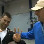 Hasselbeck Wins Number On Unconventional Half Court Shot Bet