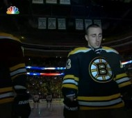 Boston Bruins Fans Sing National Anthem