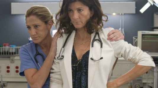 Nurse Jackie, Eve Best, Edie Falco