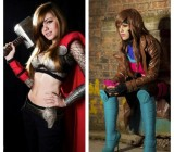These Female Gambit and Thor Costumes Are On Point