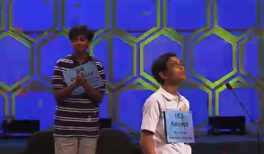 Spelling Bee Champ Clearly Knows How to Celebrate a Victory Properly