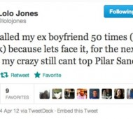 lolo jones is crazy