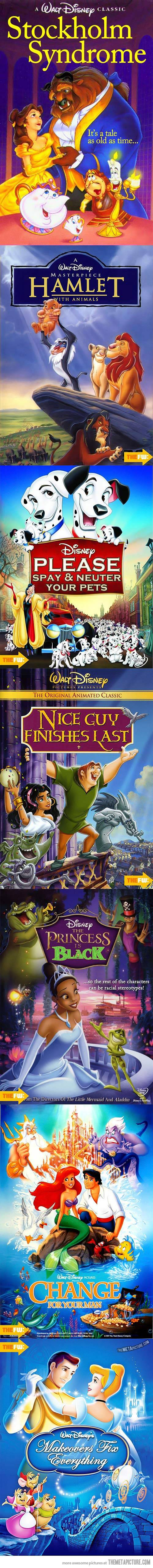 Disney Movies with Accurate Titles