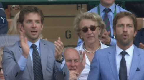Bradley Cooper and Gerard Butler at Wimbledon: Sexiest Tennis Fans Ever