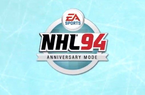 NHL '94 Anniversary Edition in New NHL '14