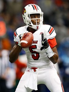 Louisville QB Teddy Bridgewater (Chris Gaythern/Getty Images)