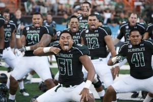 Hawai'i Players Performing the Haka