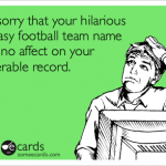 Hilarious Fantasy Football Team Name Ideas for 2013