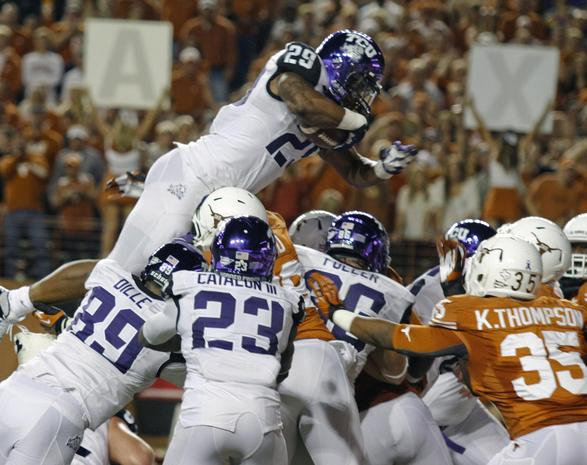 The road to the Fiesta Bowl runs through Texas…but not Austin