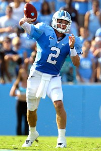 UNC QB Bryn Renner (AP Photo/Gerry Broome)