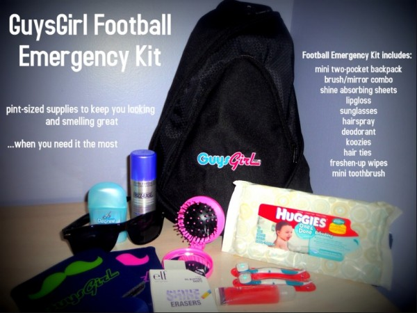 Make Your Own Football Game Emergency Kit